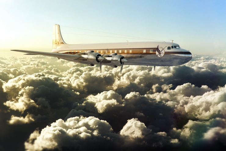 Cloudmaster DC-6 1