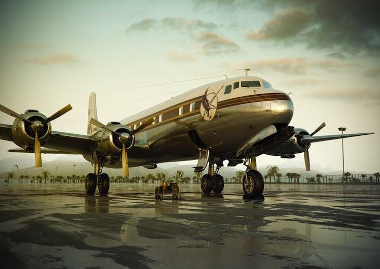 Cloudmaster DC-6 2