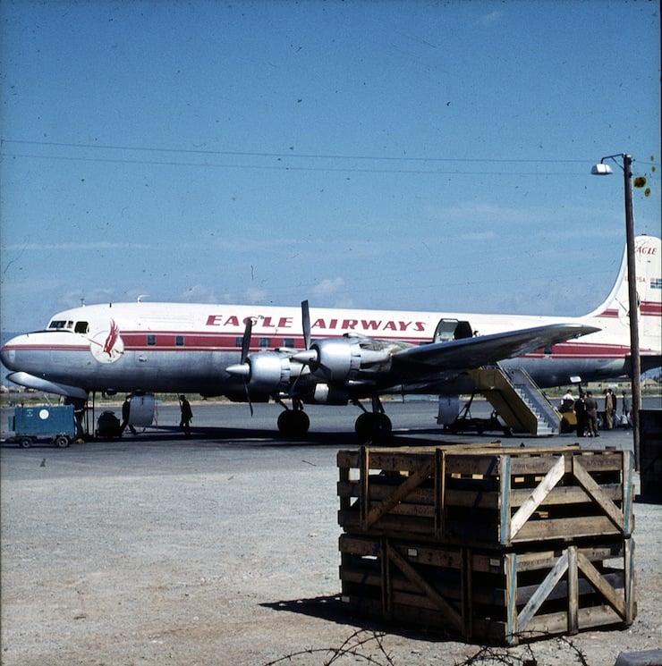 Cloudmaster DC-6 4