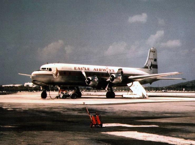 Cloudmaster DC-6 8
