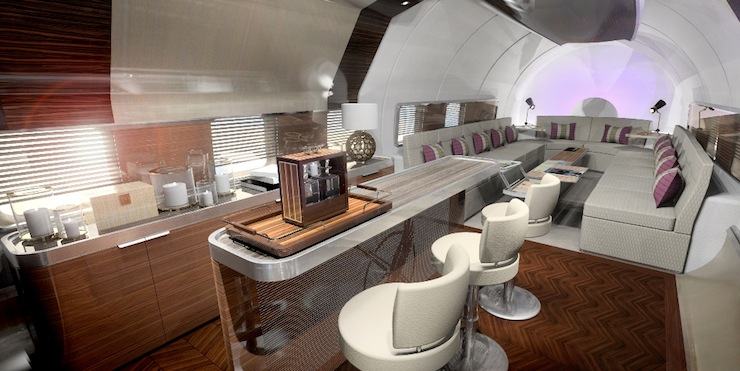 Cloudmaster DC-6 9