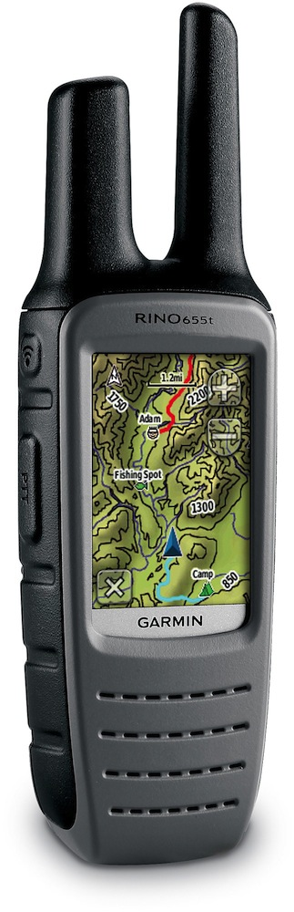 Garmin Rino 655t GPS:2-Way Radio Survival