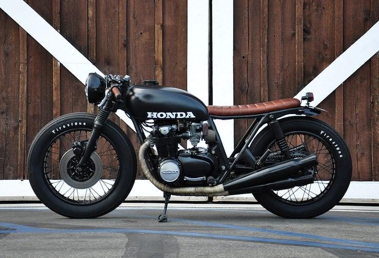Honda CB550 Cafe Racer Custom By Seaweed Gravel