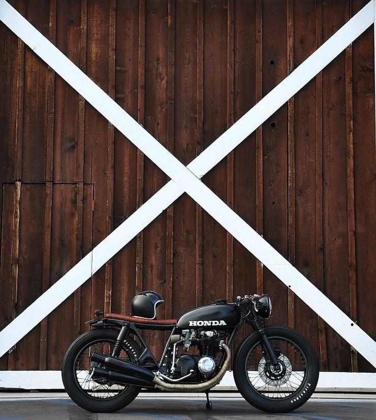 Honda CB550 bike