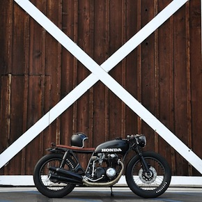 Honda CB550 bike1 - Honda CB550 by Seaweed & Gravel