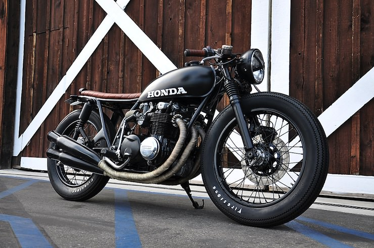 Honda CB550 cafe racer custom
