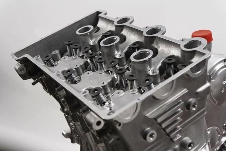 Horex VR6 Cylinder head