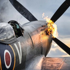 Merlin Engine Starts on a Supermarine Spitfire 1 - Spitfire Wallpaper