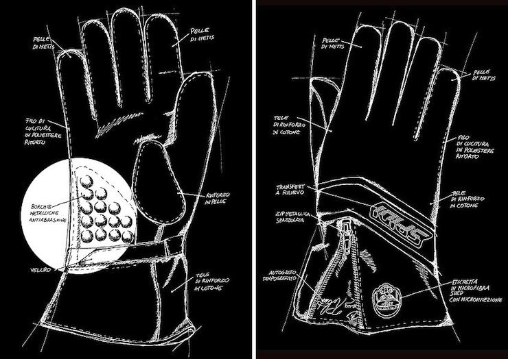 Replica 77 Gloves by Spidi 1977