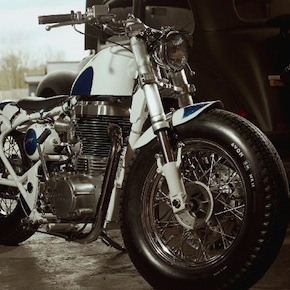 Royal Enfield1 - Royal Enfield Bobber by Old Empire Motorcycles