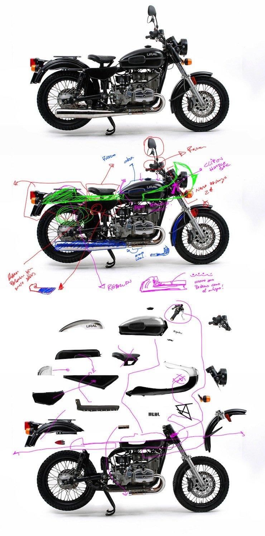 Ural Motorcycle Racer