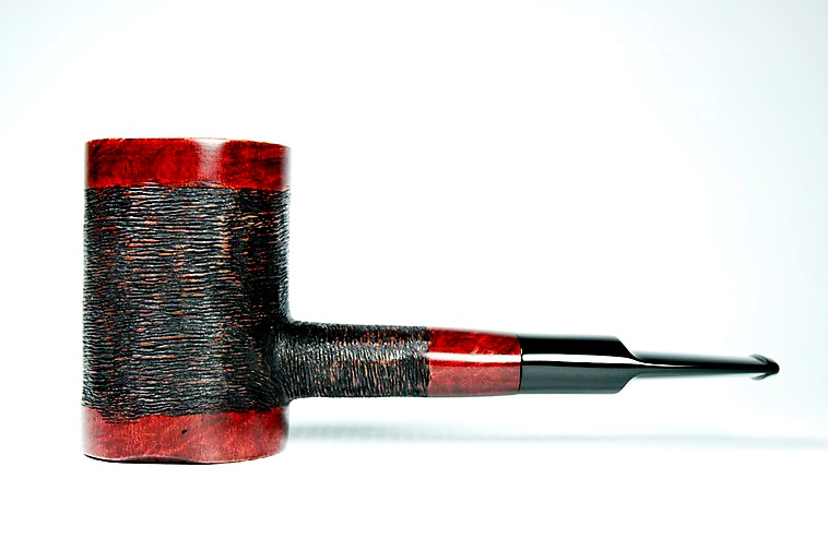 Oval Shank Poker Pipe by Fat Bastard Pipes