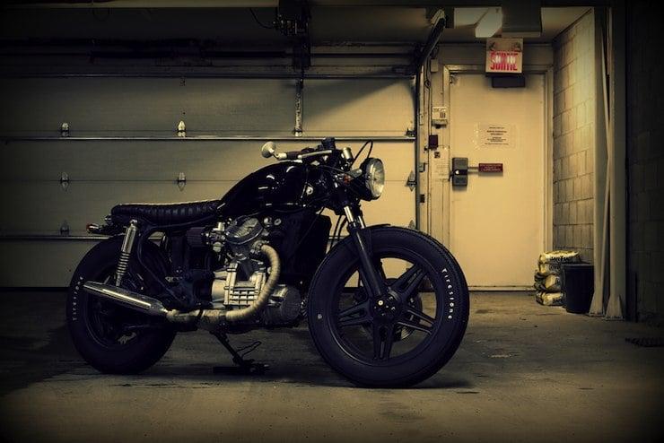 honda cx500 custom motorbike 1
