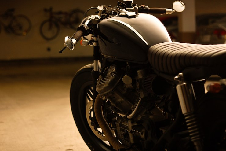 honda cx500 custom motorbike 2