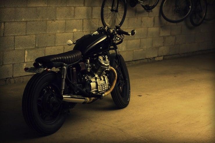 honda cx500 custom motorbike 3
