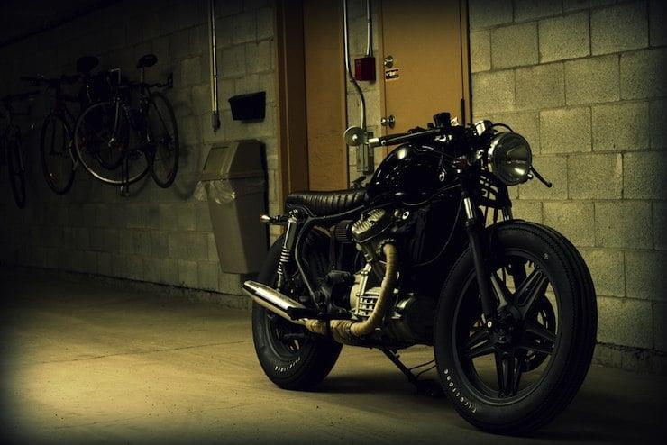 honda cx500 custom motorbike 4