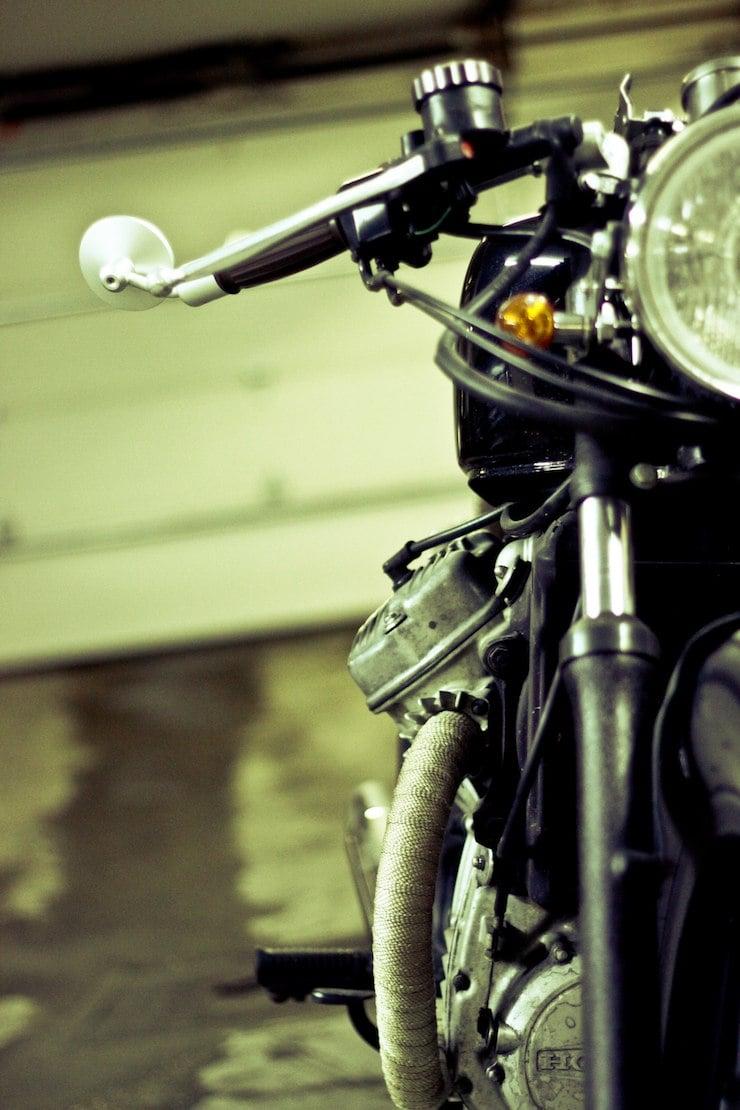 honda cx500 custom motorbike 7