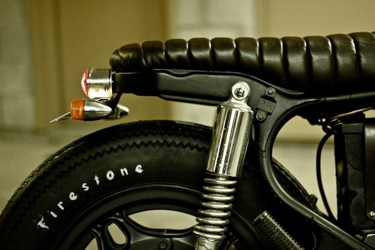 honda cx500 custom motorbike 8