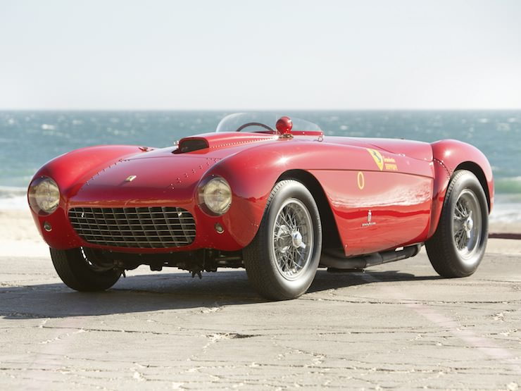 1954 Ferrari 500 Mondial Spider Series I by Pinin Farina
