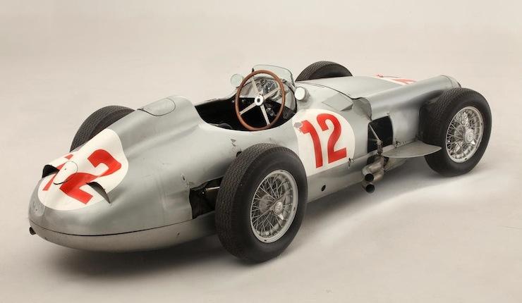 1954 Mercedes-Benz W196R Formula 1  4
