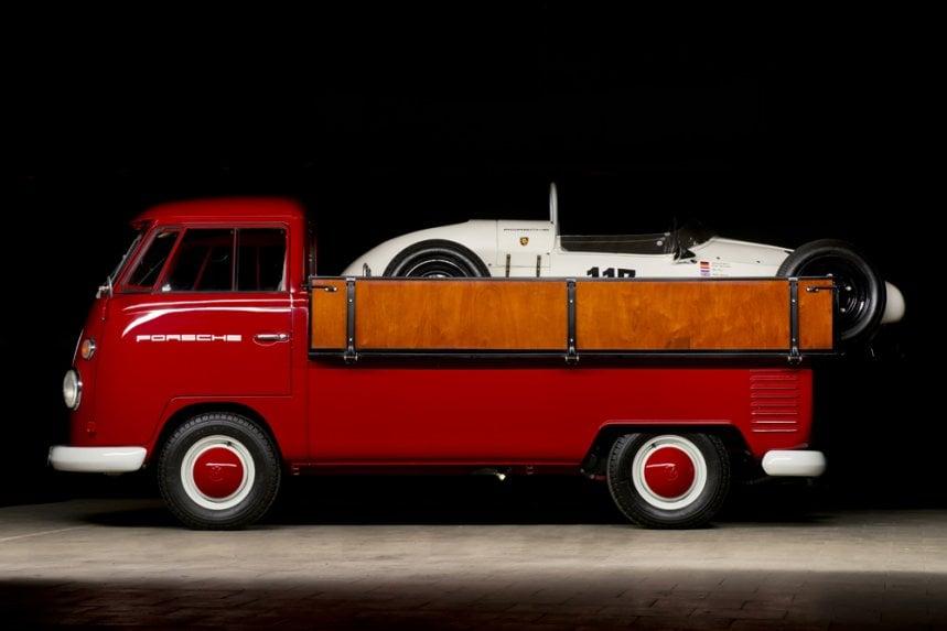 19645 Volkswagen Bulli Porsche Formula V 2 1964/5 Volkswagen Pick Up & Porsche Formula V
