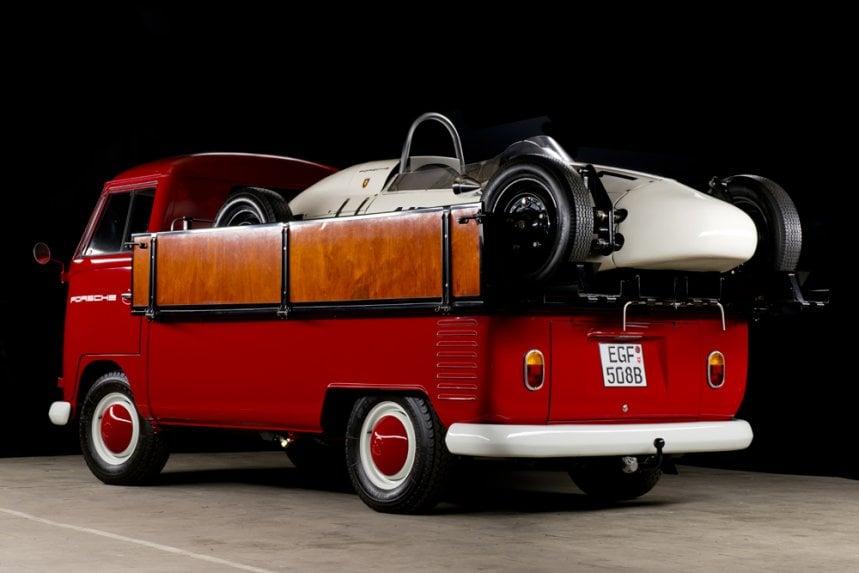 19645 Volkswagen Bulli Porsche Formula V 3 1964/5 Volkswagen Pick Up & Porsche Formula V