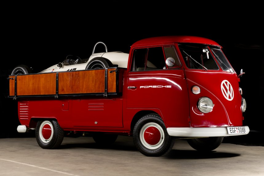 19645 Volkswagen Bulli Porsche Formula V 1964/5 Volkswagen Pick Up & Porsche Formula V