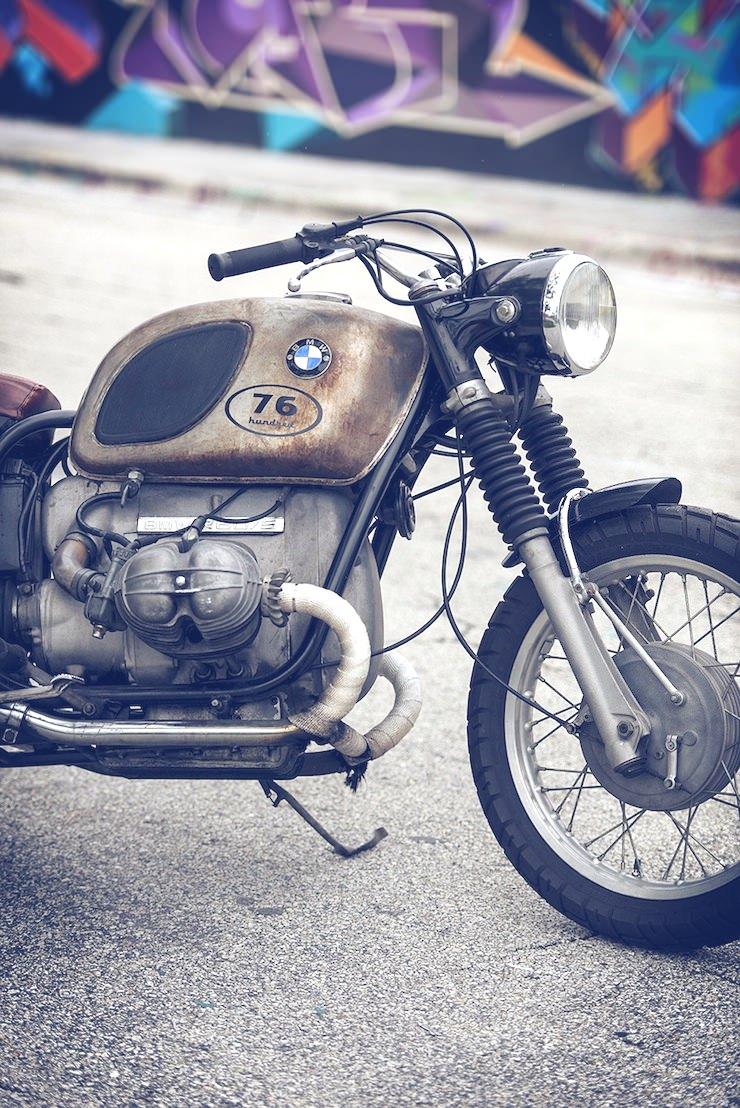 1971 BMW r605 2 1971 BMW r60/5   La Curiosa