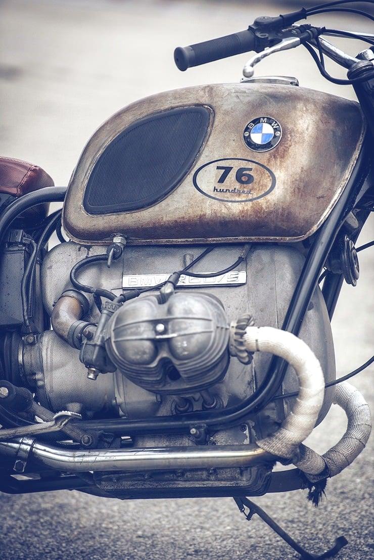 1971 BMW r605 3 1971 BMW r60/5   La Curiosa