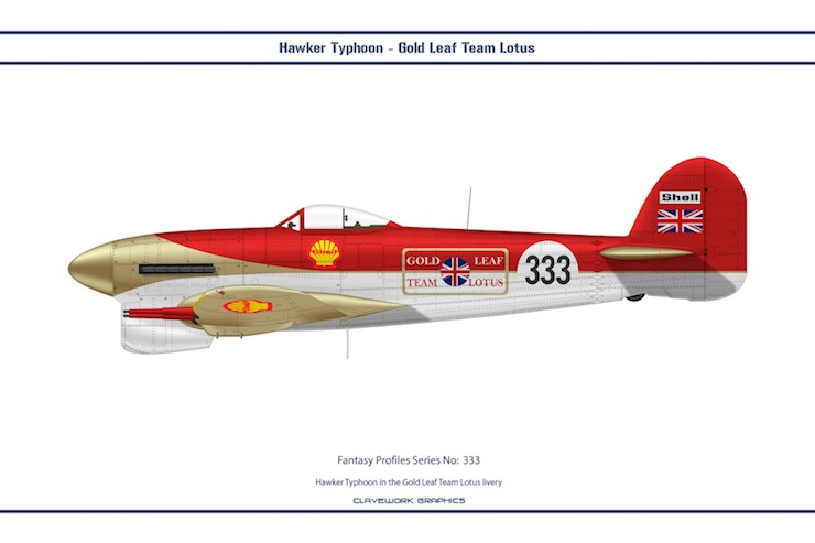 Bill Clave's Retro Motorsport Planes 1