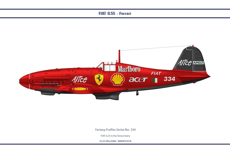 Bill Clave's Retro Motorsport Planes 2