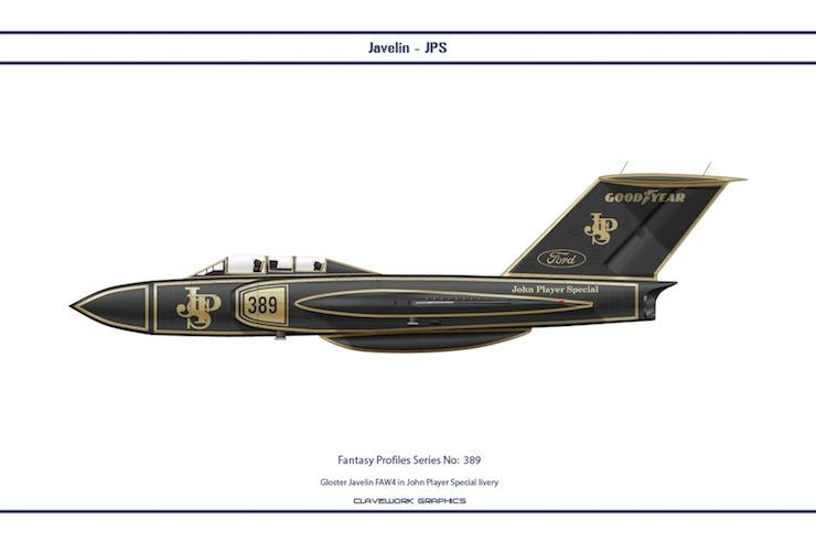 Bill Clave's Retro Motorsport Planes 5