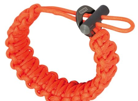 Fire Starter Paracord by Chum Orange 450x330 - Fire Starter Paracord Bracelet by Chums
