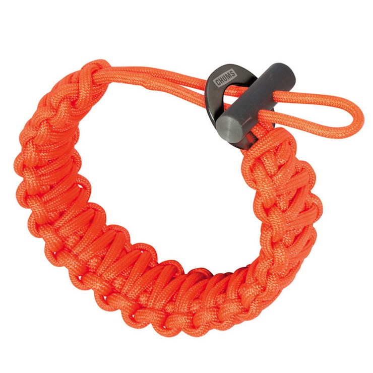 Fire Starter Paracord by Chum Orange