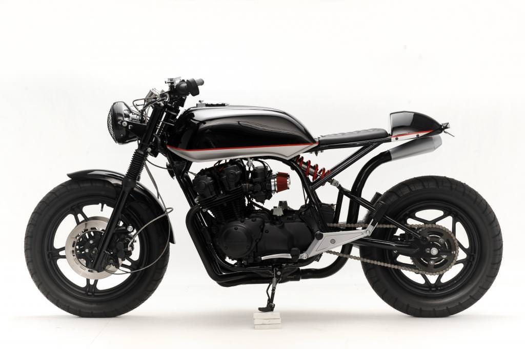 Honda CB750 Convertible by Steel Bent Customs