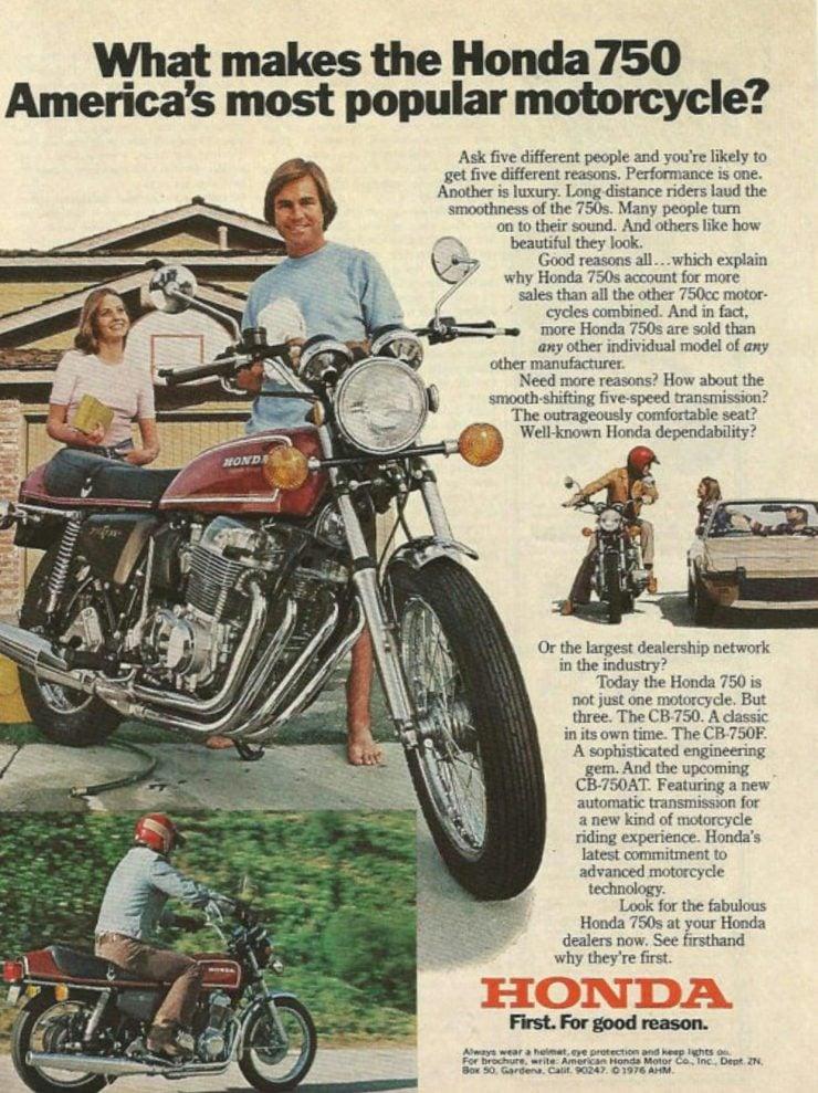 Honda CB750 America