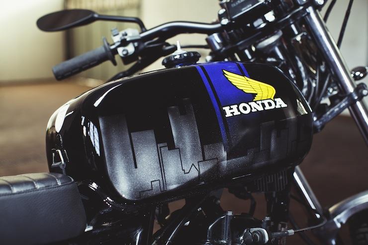 Honda FT500 10
