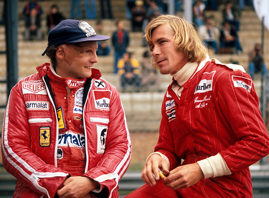 James Hunt versus Niki Lauda