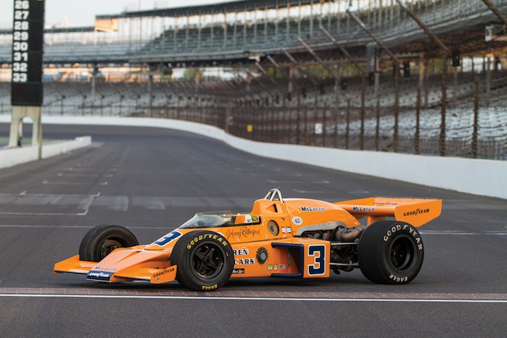 MO13 r148 01 1974 McLaren M16C Indy Race Car