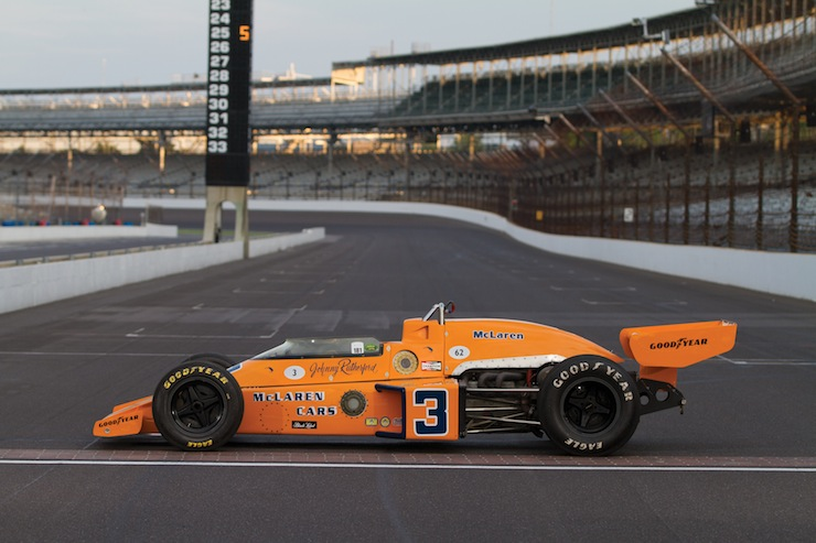MO13 r148 05 1974 McLaren M16C Indy Race Car