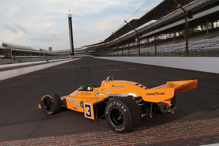 MO13 r148 17 1974 McLaren M16C Indy Race Car