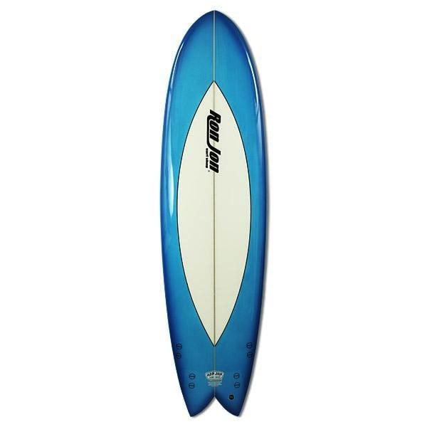 Ron Jon 7' Quad Fish Surfboard