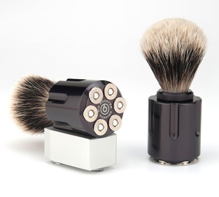 Six Shooter Shaving Brush