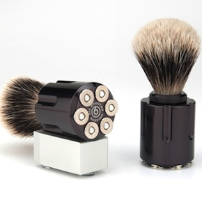 Six Shooter Shaving Brush