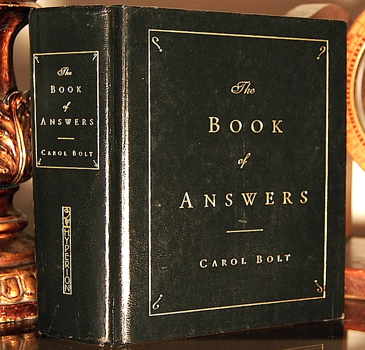 The Book Of Answers (With A Hidden Hip Flask) 2