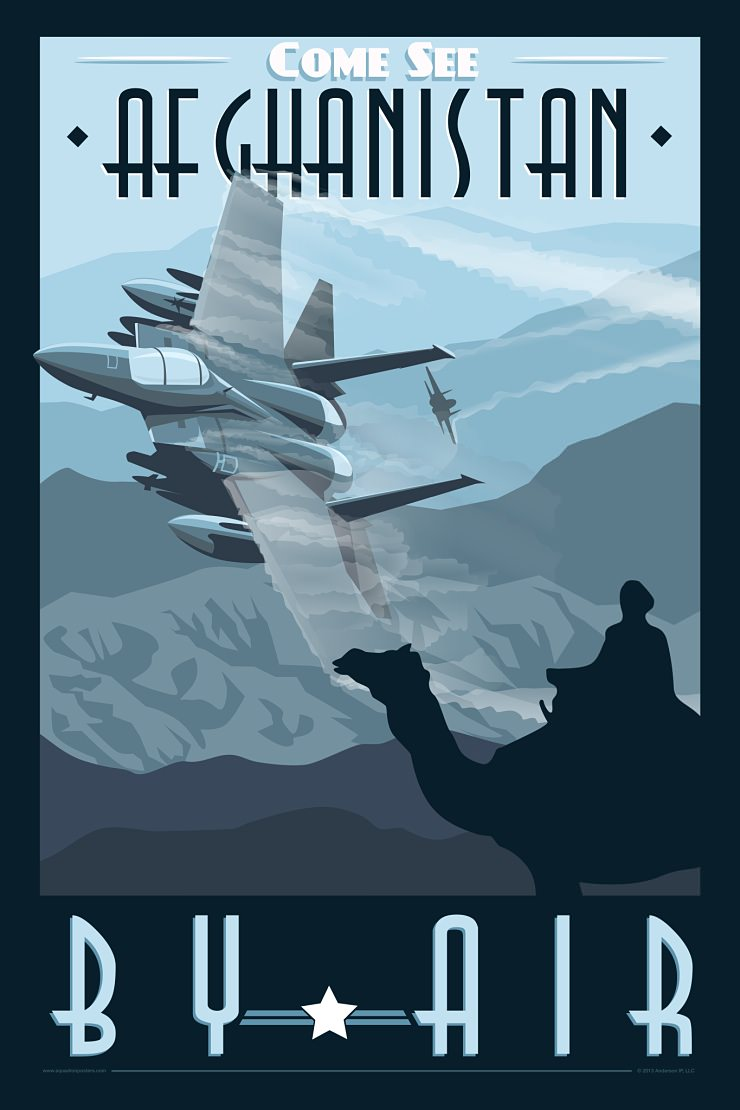 What Is The Best Military Branch >> Art Deco USAF Posters by Nicholas Anderson