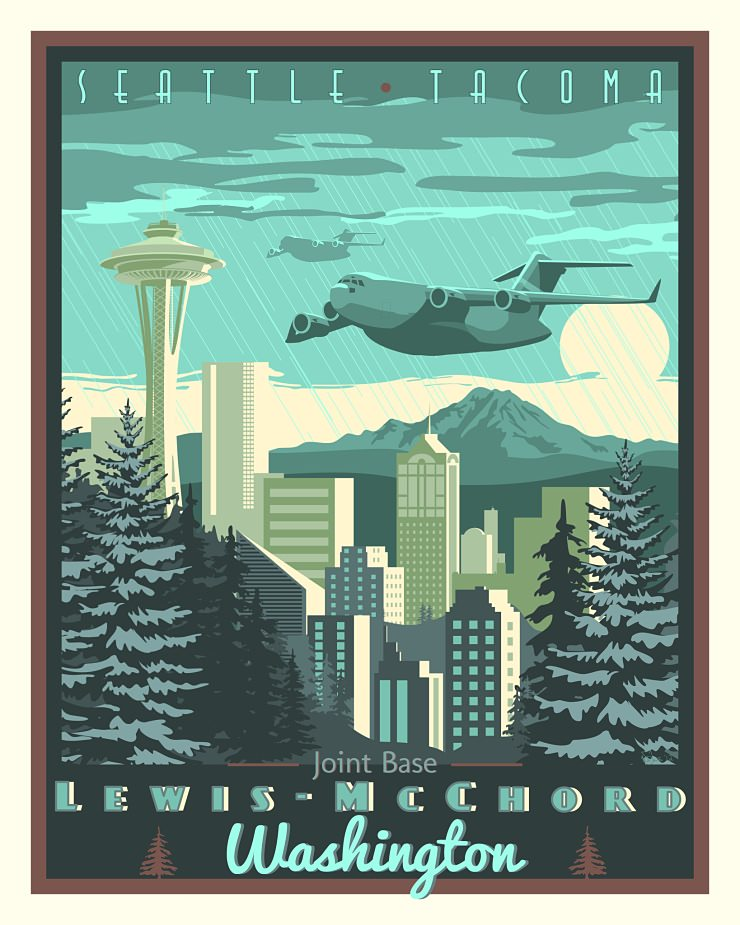Art Deco Posters: Art Deco USAF Posters By Nicholas Anderson