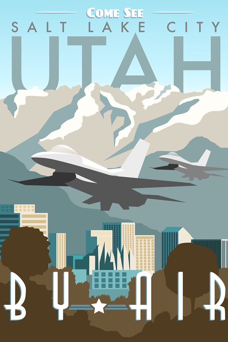 USAF Posters by Nicholas Anderson