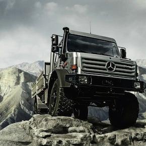 mercedes benz unimog1 - Mercedes-Benz Unimog