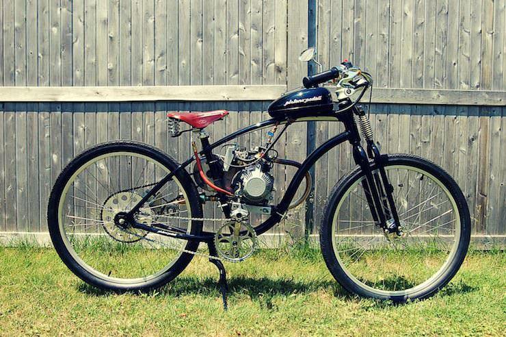 motorized bicycle 10